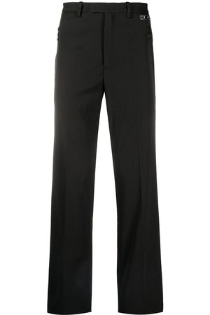 OFF-WHITE Side-stripe tuxedo trousers