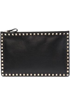 VALENTINO GARAVANI Women Clutches - Rockstud-embellished clutch bag