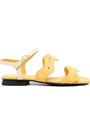 Camper Eyelet straps sandals