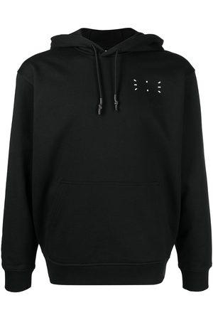 McQ Men Hoodies - Signature stitch drawstring hoodie