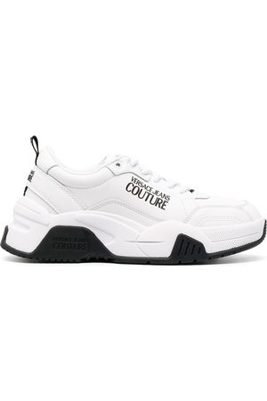 VERSACE Logo-embellished sneakers