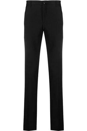 Etro Side stripe-trim skinny trousers