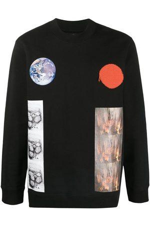 RAF SIMONS Men Sweatshirts - Earth planet sweatshirt