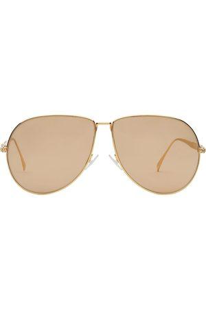 Fendi FF Baguette aviator frame sunglasses