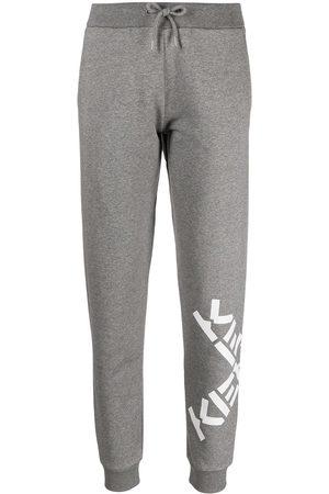 Kenzo Women Joggers - Big X logo-print track pants