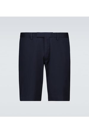 Polo Ralph Lauren Flat front stretch-cotton shorts