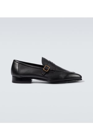 Tom Ford Leather York Chain loafers