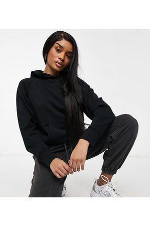ASOS ASOS DESIGN Petite ultimate hoodie in black