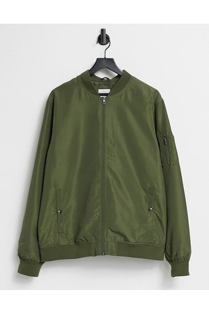 Only & Sons Bomber jacket in khaki-Green