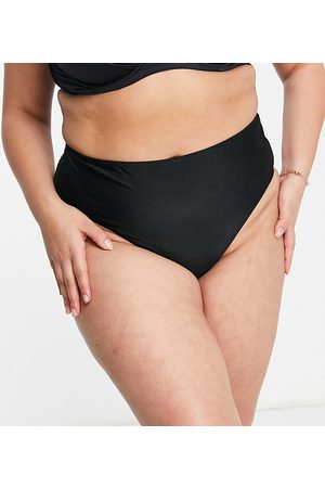Wolf & Whistle Exclusive high waist bikini bottom in