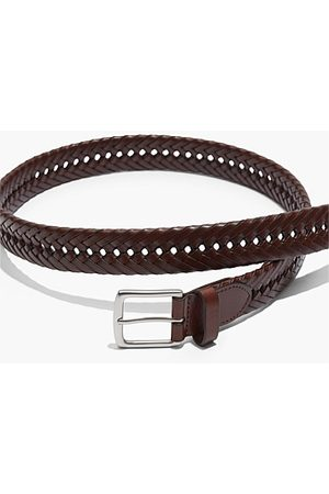 COUNTRY ROAD Plaited Belt - Rich Tan