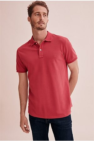 COUNTRY ROAD Australian Cotton Pique Polo
