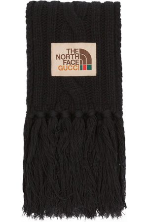 Gucci Men Scarves - The North Face x wool scarf