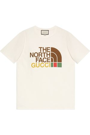 Gucci Women Short Sleeve - The North Face x cotton T-shirt