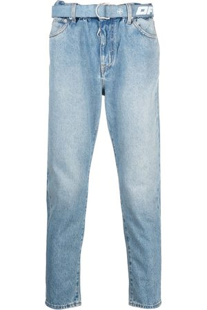 OFF-WHITE Slim-cut denim jeans
