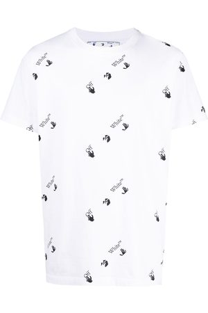 OFF-WHITE Logo-print short-sleeved T-shirt
