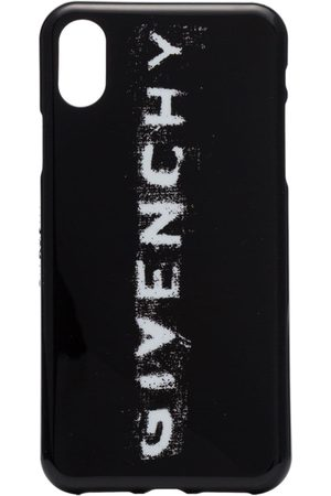 Givenchy Women Phone Cases - And white faded logo print iPhone X phone case