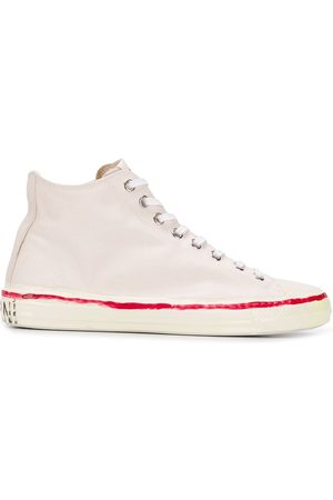 Marni Scribbled high-top sneakers
