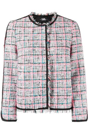 Karl Lagerfeld Summer boucle tweed jacket
