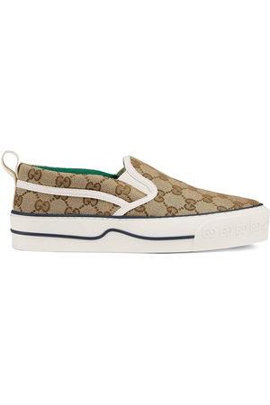 Gucci Tennis 1977 monogram slip-on sneakers