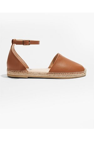 COUNTRY ROAD Women Espadrilles - Leather Espadrille - Honey