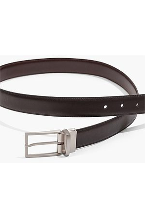 COUNTRY ROAD Reversible Leather Belt - Chocolate