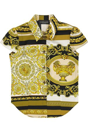 VERSACE Barocco Mosaic cotton shirt