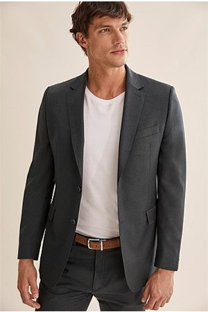 COUNTRY ROAD Regular Travel Jacket - Charcoal