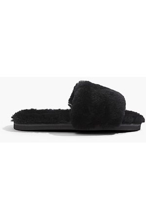 COUNTRY ROAD Shearling Slide