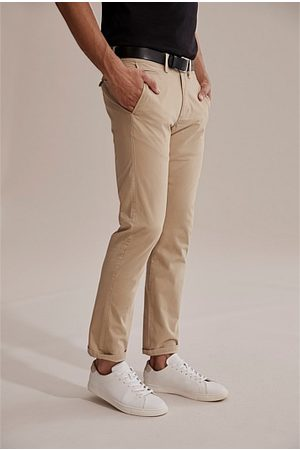COUNTRY ROAD Standard Stretch Chino - Stone