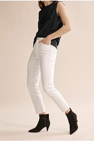 COUNTRY ROAD High Waist Straight Jean - Winter