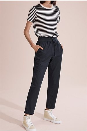 COUNTRY ROAD Women Jeans - Casual Bamboo Pant - Navy