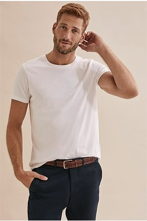 COUNTRY ROAD Men Short Sleeve - Pima Crew T-Shirt