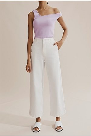 Country Road Women Bootcut & Flares - Australian Cotton Wide Leg Jean