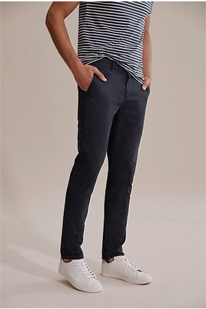 COUNTRY ROAD Tapered Stretch Chino - Navy