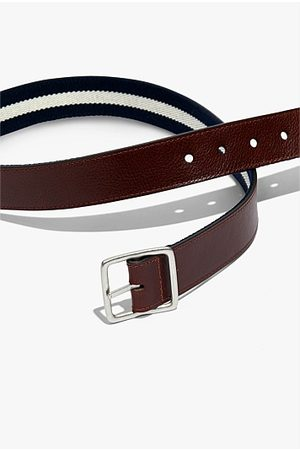 COUNTRY ROAD Textured Reversible Belt - Rich Tan