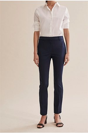 COUNTRY ROAD Cotton Sateen Pant - Ink