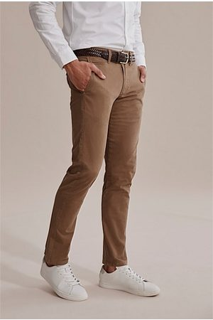 COUNTRY ROAD Standard Stretch Chino - Rich Tan