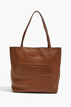 COUNTRY ROAD Heritage Leather Shopper - Tan