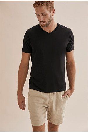 COUNTRY ROAD Men Short Sleeve - Pima V-Neck T-Shirt