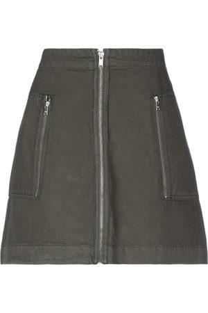 WoodWood Knee length skirts