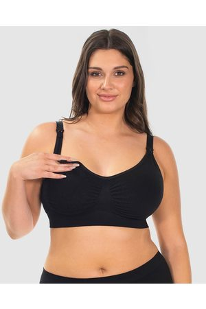 B Free Women Sports Bras - Full Bust Bamboo Nursing Bra - Sports Bras & Crops Full Bust Bamboo Nursing Bra