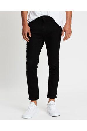 Wrangler Men Jeans - Smith R28 Jeans - Crop (Super Sonic) Smith R28 Jeans