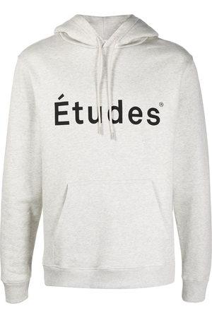 Etudes Logo-print hoodie