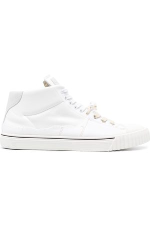 Maison Margiela Men Sneakers - High-top leather sneakers