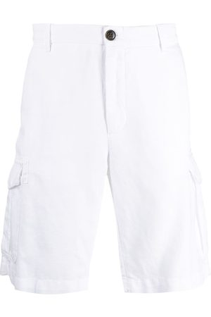 ELEVENTY Men Shorts - Straight-leg chino shorts