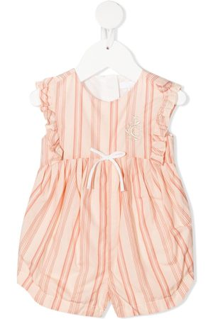 Chloé Baby Tank Tops - Striped sleeveless jumpsuit