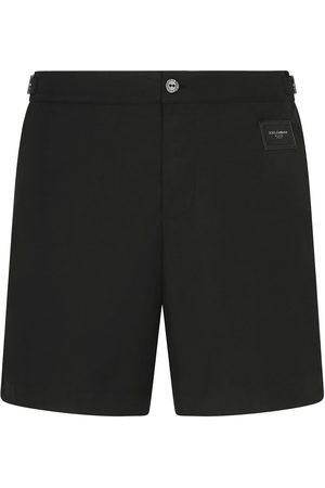 Dolce & Gabbana Logo plaque swimming shorts