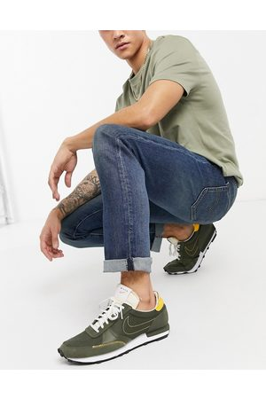 Levi's 511 slim fit jeans in band wagon advanced dark wash-Blue
