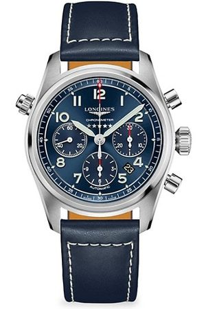 Longines Spirit Automatic Stainless Steel Chronograph Watch